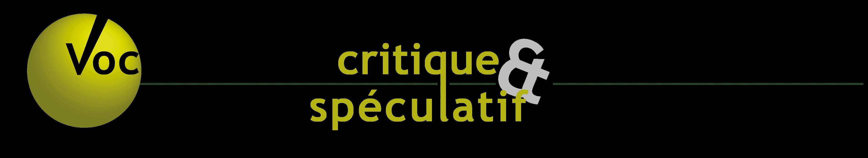 Vocabulaire critique et spéculatif des transitions